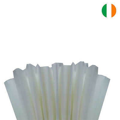 """White Tissue Wrapping Paper 500 X 750 Mm 19 X 29""""-Top Quality - Ireland"""