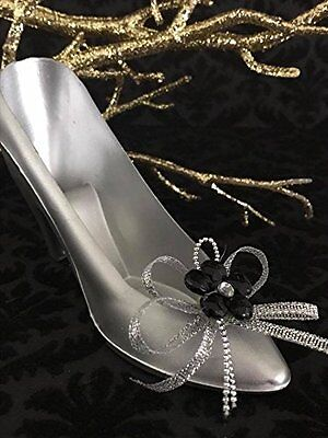 10 Plastic Shoe Fillable Favors with Shoe Decoration for Birthday Sweet 16 Party