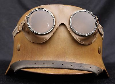 German WWII WW2 DAK Helmet