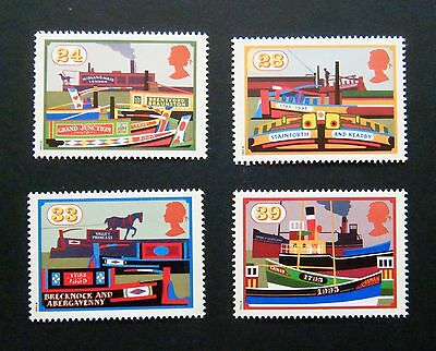 GB 1993 Issue - Full Mint Stamp Set - 'Waterways'
