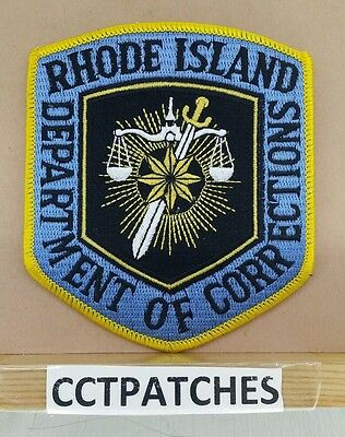 Rhode Island Department Of Corrections (Police) Shoulder Patch Ri