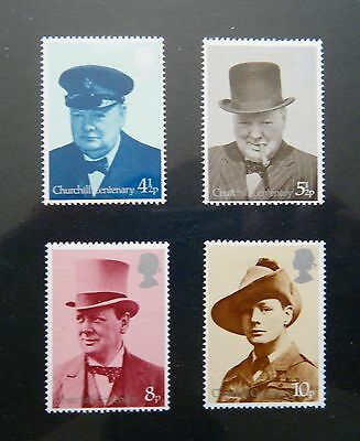 GB 1974 Issue - Full Mint Stamp Set - 'Churchill'