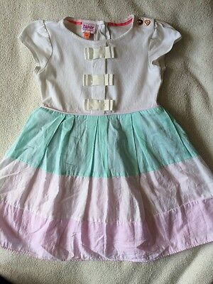 Ted Baker Baby Girls Summer Dress Size 18-24 Months Vgc