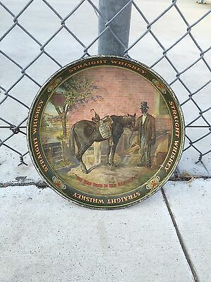 Pre-Prohibition Green River Whiskey Serving Tray Authentic Original