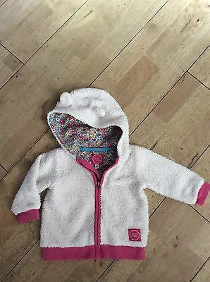 Baby Girls Joules Fleece Jacket Age 12-18 Months