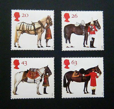 GB 1997 Issue - Full Mint Stamp Set - 'The Queen's Horses'