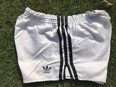 Adidas Nylon Sprinter Shorts Glanz Vintage Football Swim Retro Gym Fun