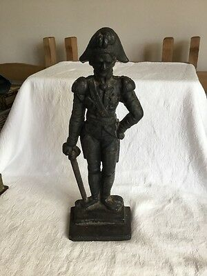 RARE Admiral Lord Nelson Cast Iron Door Stop