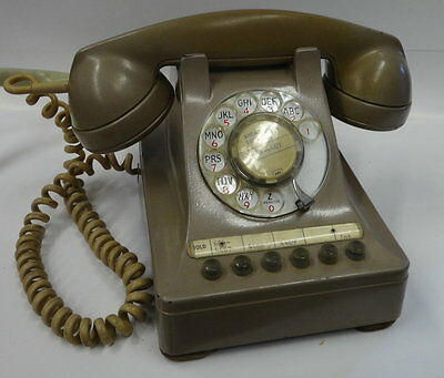 MULTI LINE ROTARY #464GC PHONE in beige