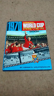 1970 Official World Cup Preview Book - Not Price Clipped - Collectable
