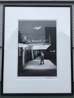 Alfred Wertheimer Authentic Signed Photo of Elvis Presley Warwick Copyright 1987
