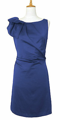 BNWT Monsoon TANYA Size 16 New Dress Royal Blue Shift Evening Party Cruise Smart