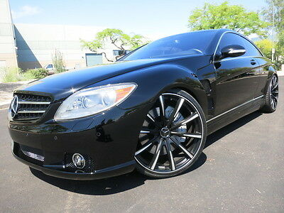 "2008 Mercedes-Benz CL-Class CL63 AMG Lorinser Lorinser Body Kit 22"" Gianelle Whls P2 Loaded Rare Car 2007 2009 2010 cl63 amg"