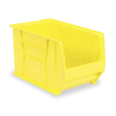 AKRO-MILS Super Size Bin,20 In.L,12-3/8 In.W,6 In., 30280YELLO, Yellow