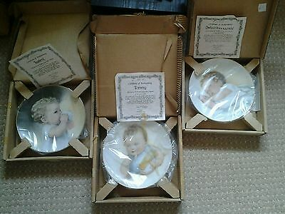 Never used,1987 Hamilton collection of plates.