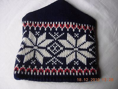 Dale of Norway woollen hat pure new wool beanie one size