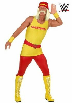 Adult Hulk Hogan Costume and Wig MEDIUM