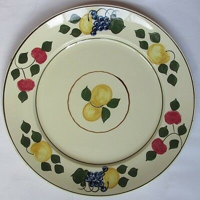 Adams Royal Ivory Titian Ware 10 inch Plates (4)