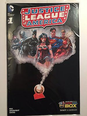 Justice League of America #1 Comic Con Box Exclusive Variant Brand New