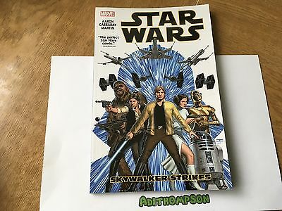 Star Wars Skywalker Strikes Marvel Graphic Novel Comic Book