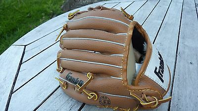 "Franklin 4609 9.5""  Baseball Glove - Field Master Authentic Series - Deer Touch"