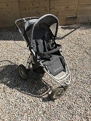 Quinny Speedi Jogger Single Seat Stroller and rain hood