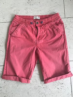 Zara Boys Red Shorts Age 9/10 Worn And Faded