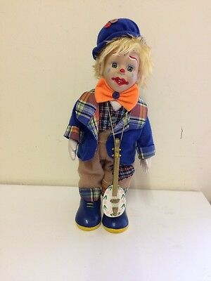 Collectable Porcelain Clown Doll