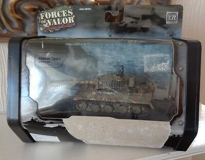 Boxed Unimax Forces of Valour 1/72 Scale WW2 German Army Tiger Normandy 1944 MIB