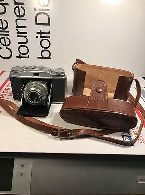 Agfa Solinette 1:35/50 Camera R05750 And Case