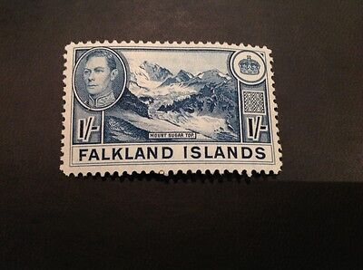 (103) Falkland Islands 1938 KGVI Mount Suger Top MLH