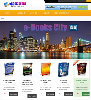 Digital Store - Website for Sale Hosting Included