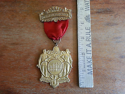 11th Annual Convention Southern NY Volunteer Firemans Association 1908 Delegate