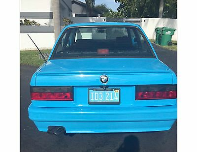 1987 BMW 3-Series  BMW E30 M3 1987 BLUE NO RESERVE