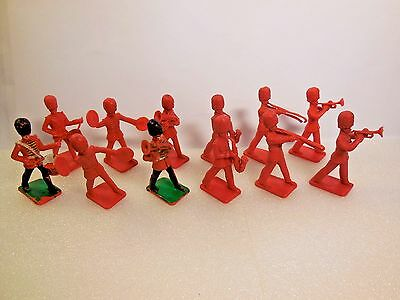 Vintage Crescent Kellogg's British Royal Orchestra Band Toy Soldiers 1:32