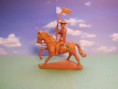 Vintage Cherilea Mounted Canadian Mountie Plastic Toy Soldiers 1:32