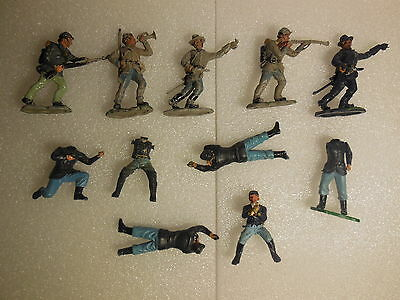 Vintage Britains Deetail ACW American Civil War Plastic Toy Soldiers 1:32