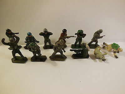 Vintage Lone Star Modern Harvey British Army Paratroopers Toy Soldiers 1:32