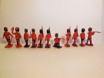 Vintage LONE STAR British Royal Coldstream Guards Band Toy Soldiers 1:32