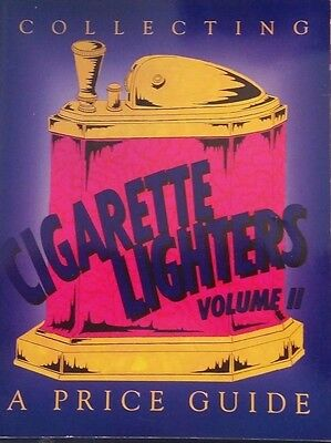 CIGARETTE LIGHTER VOL 2 VALUE GUIDE COLLECTOR'S BOOK 30'S - 70'S Pocket Table ++