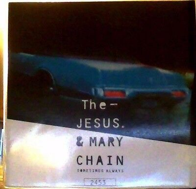 """The Jesus & Mary Chain sometimes always red vinyl 7"""""""