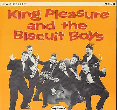 KING PLEASURE and the THE BISCUIT BOYS UK Mono SIGNED by LISA 'SUGAR' LEE   DMM