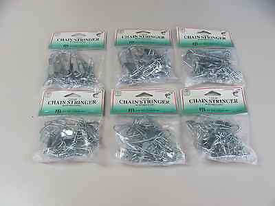 Chain Stringer 7 Snap 40 Inch Metal Dolphin Brand 6 New Fish Keeper Fishing