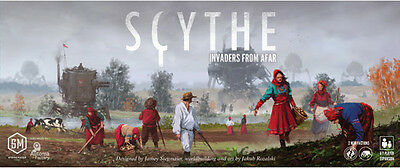 Scythe: Invaders from Afar - SEALED - Brand New Board Game- Stonemaier Games