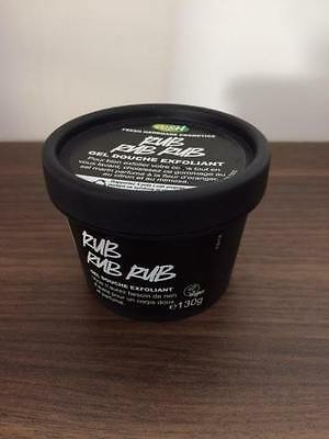 130g LUSH Rub Rub Rub Shower Scrub