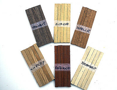 30 Assorted Woodturning Lace Bobbin Blanks