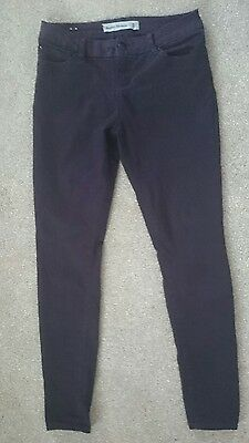 New Look Maroon Super Skinny Jeans Size 12