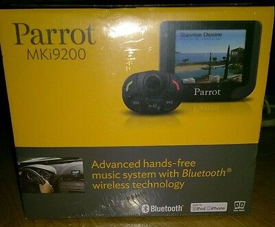 Parrot MKi9200 Bluetooth Handsfree Car Kit,USB,SD,iPod,iPhone Android Connection