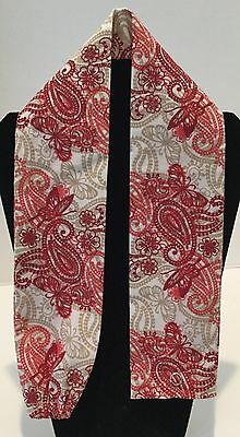 Red Paisley Butterfly MD RN EMT LPN Stethoscope Cover Buy 3 GET FREE SHIPPING
