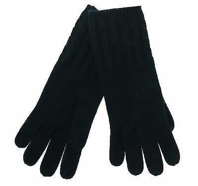 Charter Club Women's Luxury Cashmere Cable Knit Gloves